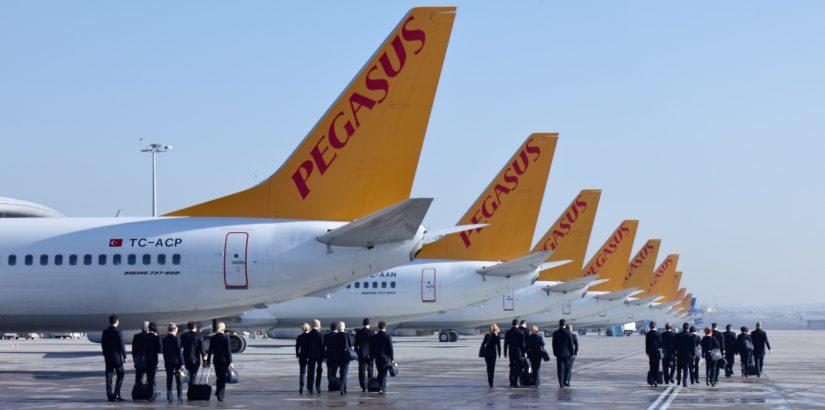 У Pegasus скидки 40% на все перелёты в сентября и октябре