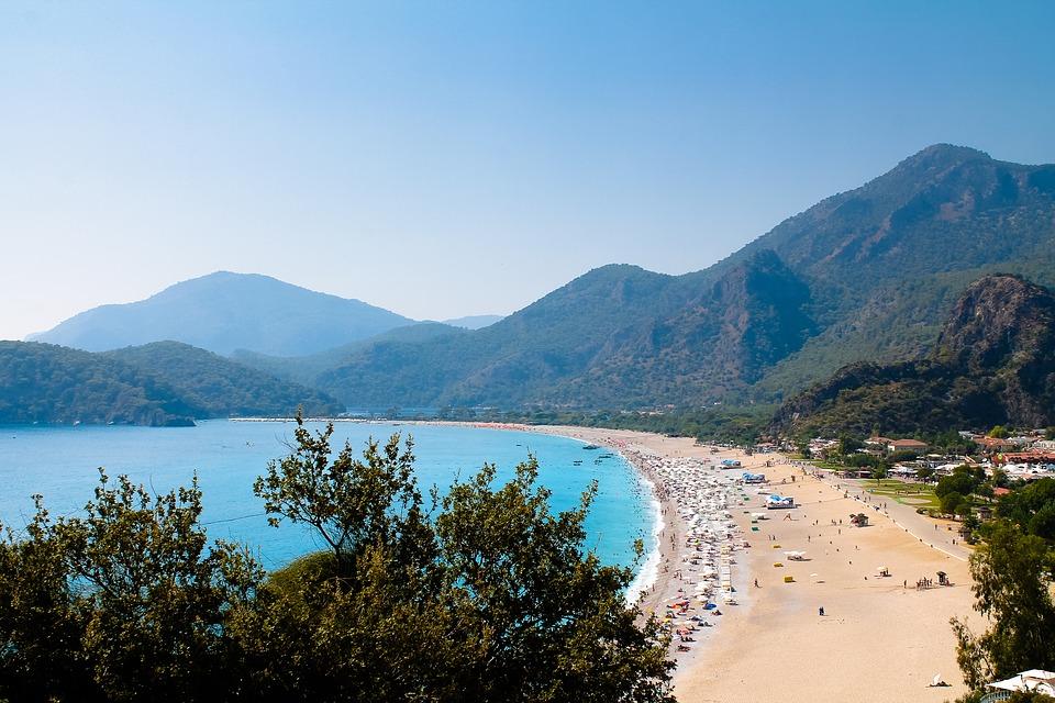 Турция пляж