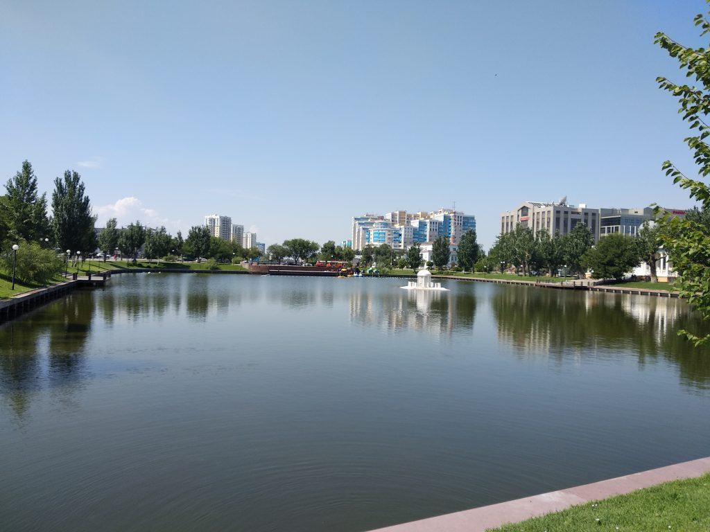 Астрахань Лебединое озеро