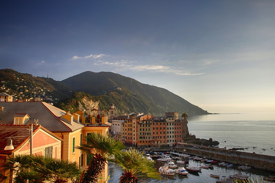 Генуя, побережье