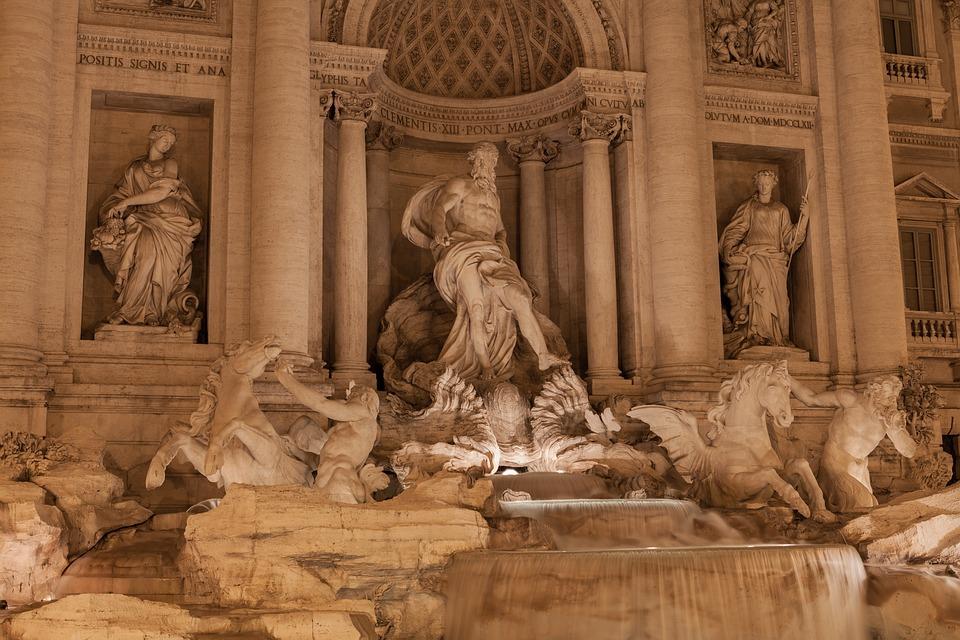 Рим, фонтан Треви