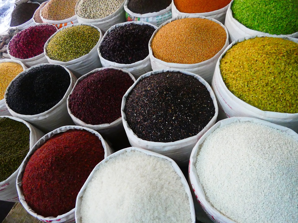 Тунис, рынок, специи