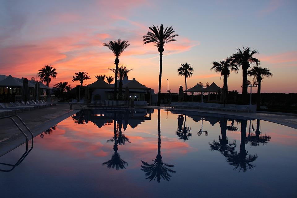 Тунис, закат