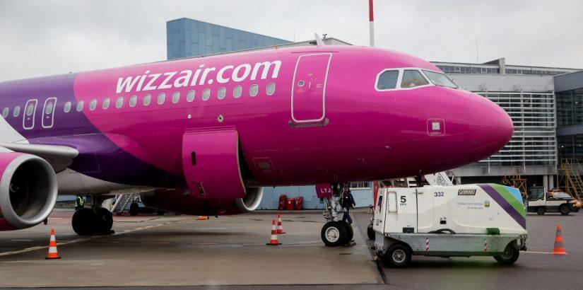 Черная пятница Wizz Air: скидка до 30% для всех посетителей сайта