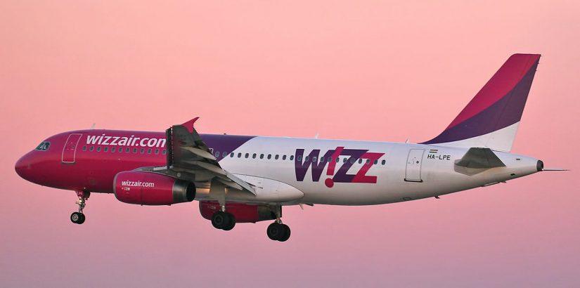Розовый понедельник Wizz Air: скидка 30%