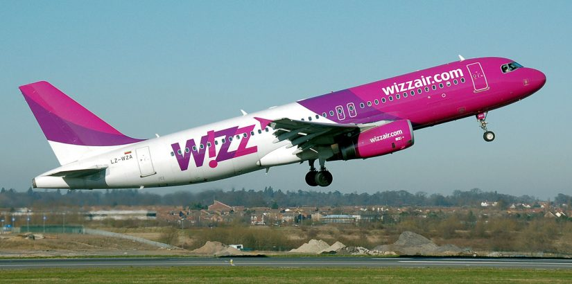 Wizz Air открыла 4 новых рейса из Питера в Европу