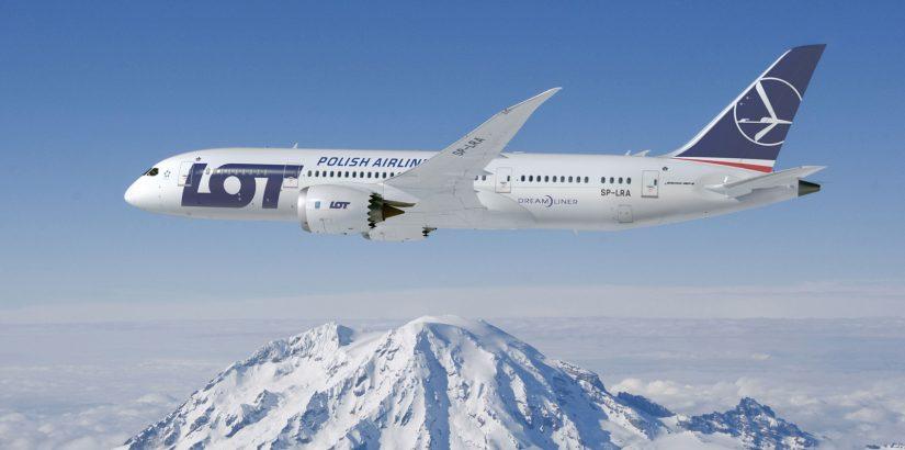 Распродажи авиакомпании LOT