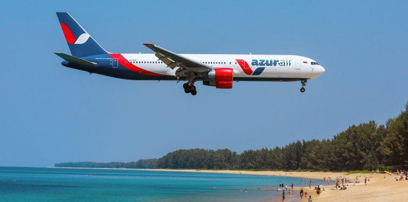 AZUR air: распродажи и акции авиакомпании